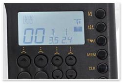 Juki HZL-G120 Display