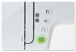 Juki H80 Start-Stopp-Taste