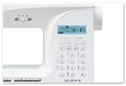 Juki H80 Bedienelemente