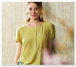 Bernina Inspiration Special Fashion Basics Bluse