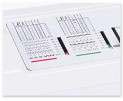 Die Stichauswahl-Tabelle der Bernina 1008