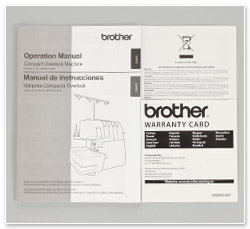 Brother Overlock 2104 D Anleitung