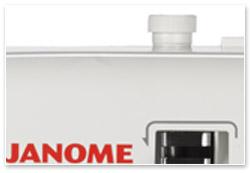 Janome Cover Pro 2000 CPX Nähfußdruck