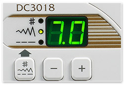 Janome DC 3018 Anniversary LCD Display