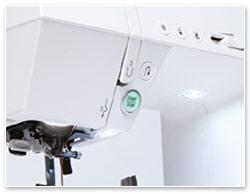 Janome DC 7100 LEDs