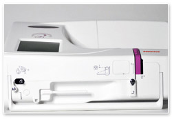 Janome Memory Craft 350E Limited Edition Fadenwechsel