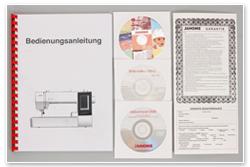 Janome Memory Craft 500 E Anleitung