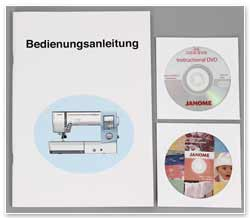 Janome Horizon MC 8900 QCP Special Edition Anleitung