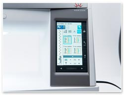 Janome 9400 QCP Display
