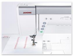 Janome 9400 QCP Säumen