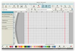 Janome Digitizer Junior V5.0 Oberfläche