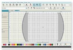 Janome Digitizer MBX V5.0 Oberfläche