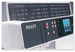 Pfaff creative 3.0 mit Stickmodul Stiche