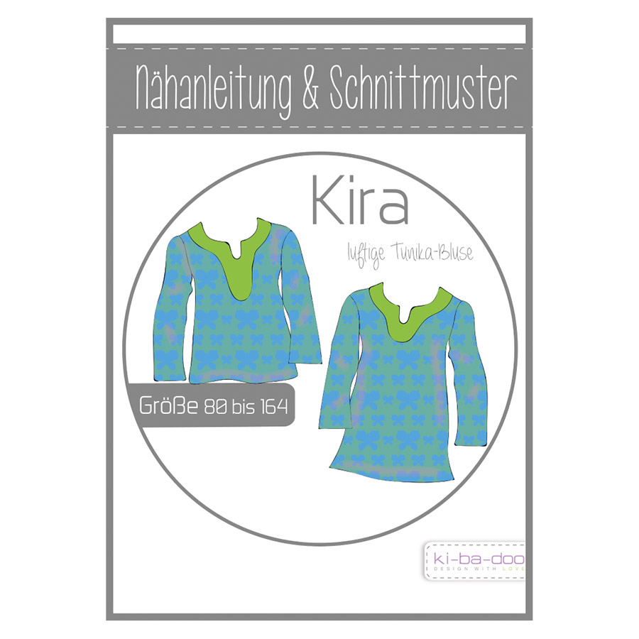 Ki-Ba-Doo Papierschnittmuster Tunika Kira im nähPark kaufen