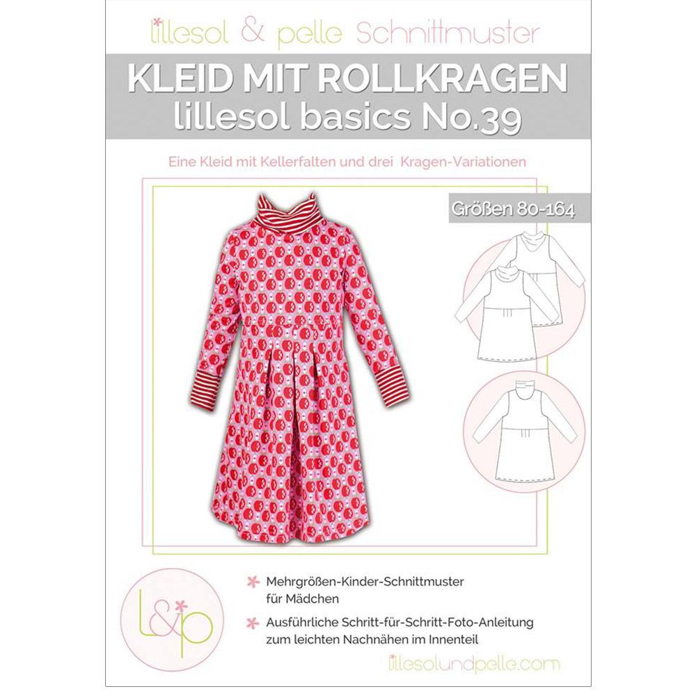 Lillesol Basics Papierschnittmuster No.39 Rollkragen-Kleid im ...