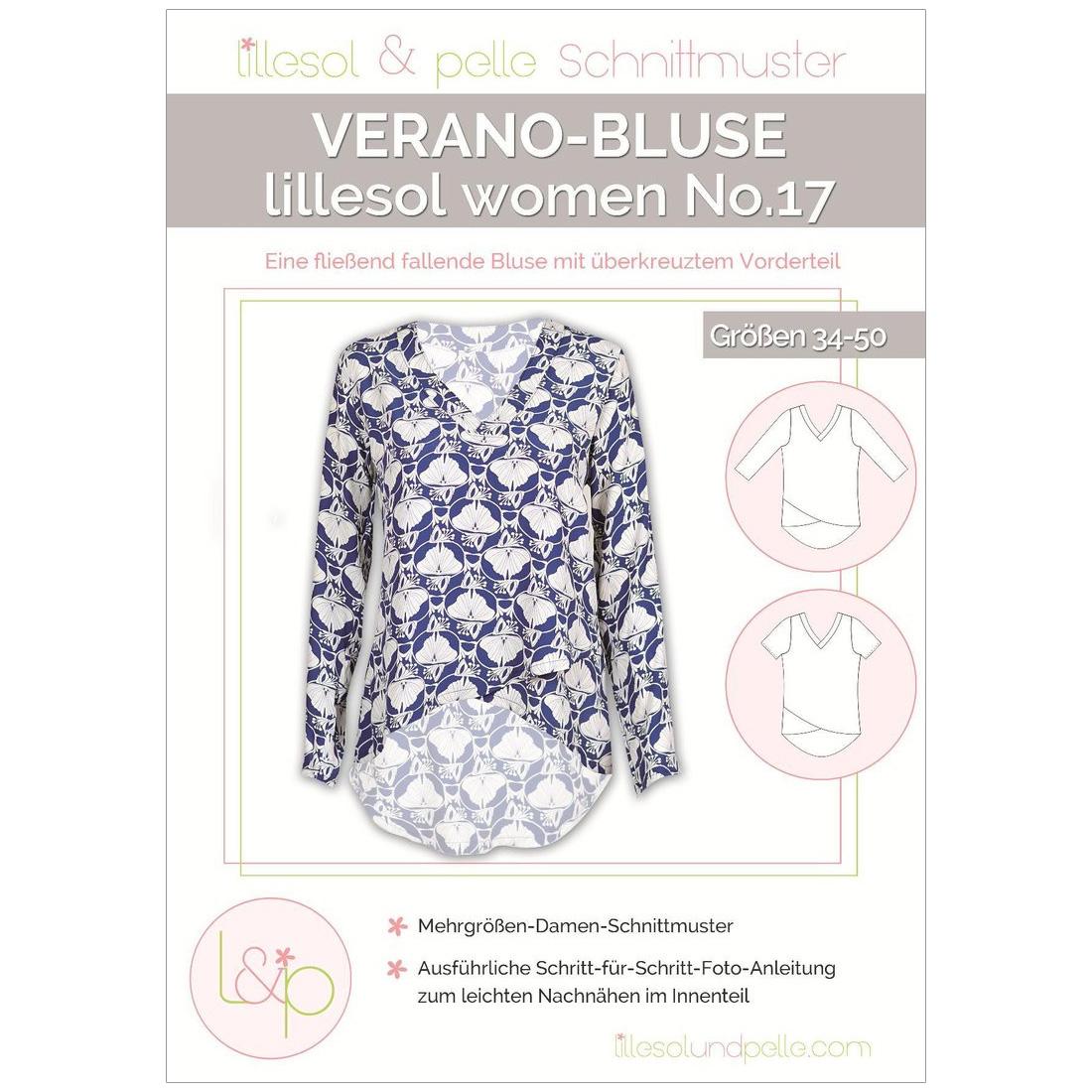 Lillesol Women Papierschnittmuster No.17 Verano-Bluse im nähPark kaufen