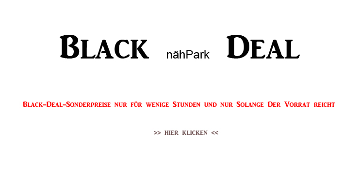 0 Black nähPark Deal