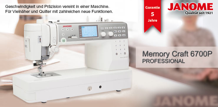 1 Janome Memory Craft 6700P