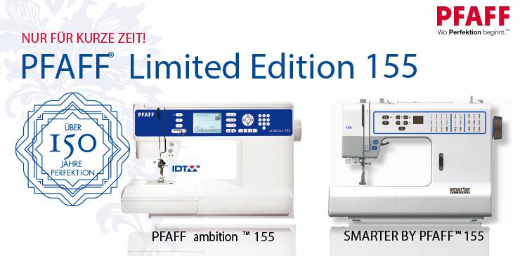 1 Pfaff Limited Edition 155 Sondermodelle