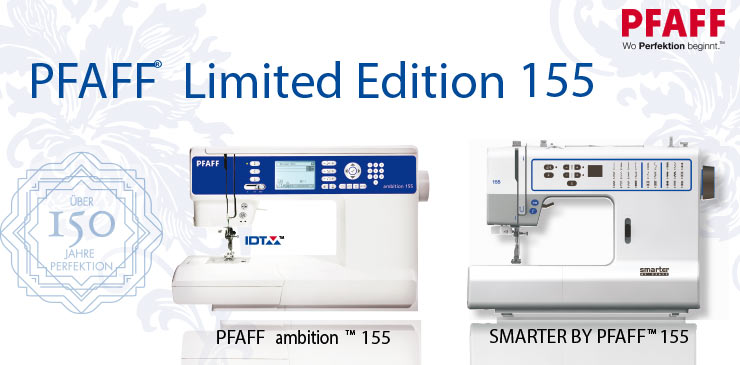 4 Pfaff Limited Edition 155 Sondermodelle
