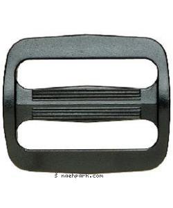 PRYM Leiterschnalle schwarz 40mm