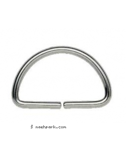 PRYM D-Ring 25mm silber 4 St.