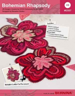 BERNINA Stickmuster CD Bohemian Rhapsody Nr. 82007