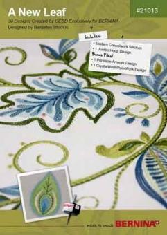 BERNINA Multiformat  CD A New Leaf Nr. 21013