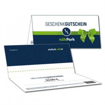 Geschenkgutschein nähPark