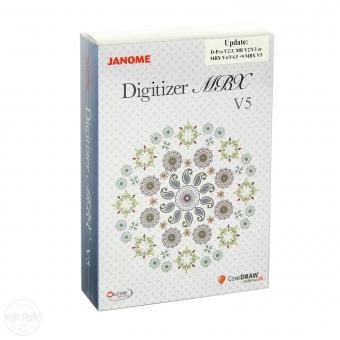 JANOME Update Digitizer MBX V5.0