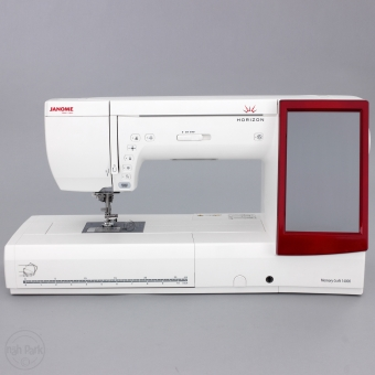 JANOME Horizon Memory Craft 14000 gebraucht mit Digitizer MBX 4.5 Software