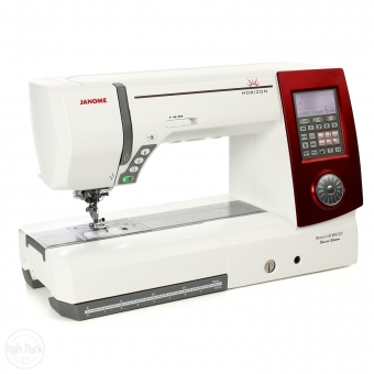 JANOME Horizon MC 8900 QCP Special Edition rot