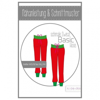 KI-BA-DOO Papierschnittmuster Basic Hose Damen