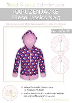 LILLESOL Basics Papierschnittmuster No.5 Kapuzenjacke