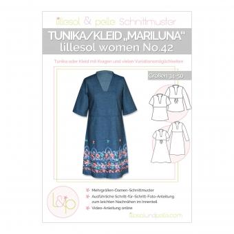 LILLESOL Women Papierschnittmuster No.42 Tunika/Kleid Mariluna
