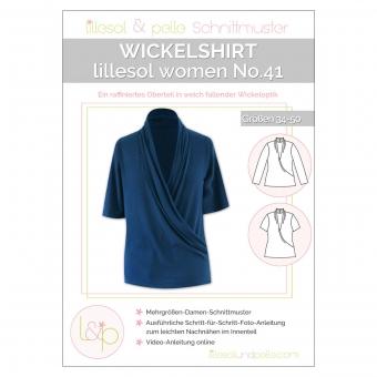 LILLESOL Women Papierschnittmuster No.41 Wickelshirt