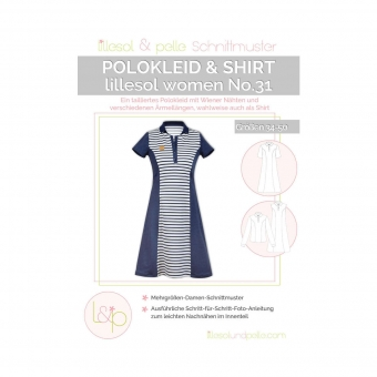 LILLESOL Women Papierschnittmuster No.31 Polokleid & -shirt