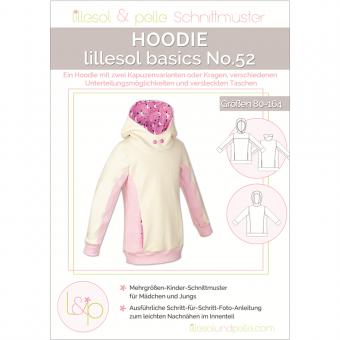 LILLESOL Basics Papierschnittmuster No.52 Hoodie