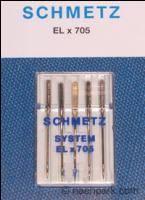 SCHMETZ Overlocknadeln ELx705 5er Packung