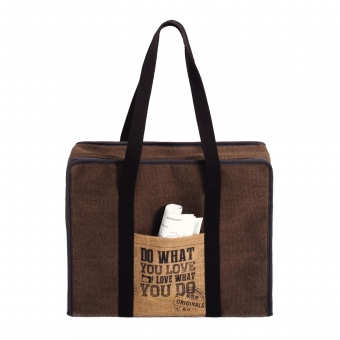 PRYM All-in-One Tasche Hand-printed Canvas L