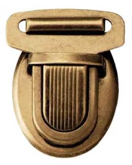 PRYM Steckschloss 26mm altmessing