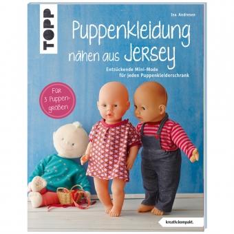 TOPP Puppenkleidung nähen aus Jersey