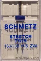 SCHMETZ Zwillingsnadeln Stretch