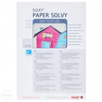 SULKY Paper Solvy 21,6 cm x 28 cm