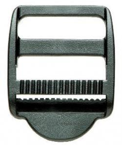 Klemm - Leiterschnalle schwarz 25mm