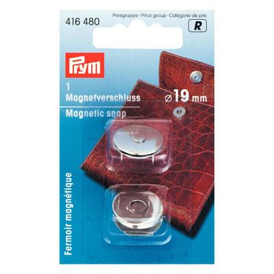 Magnetverschluß 19mm silber