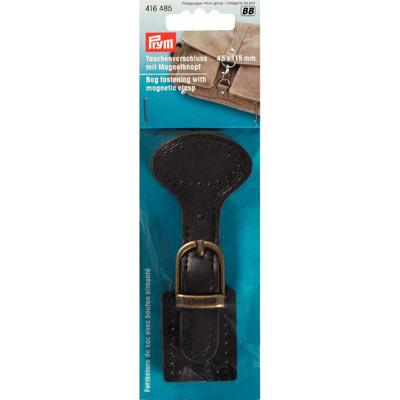 Taschenverschluss mit Magnetknopf