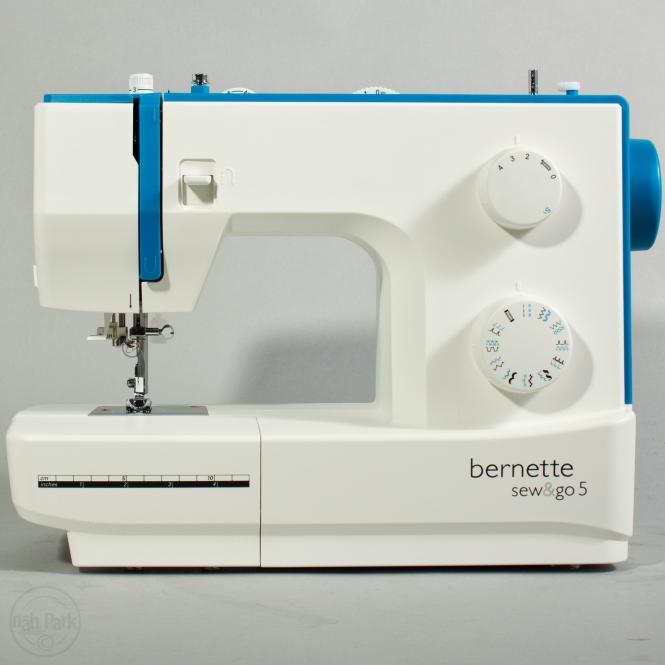 Bernette sew & go 5 gebraucht