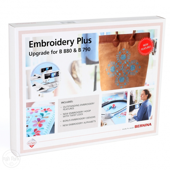 Bernina Embroidery Plus Upgrade inkl. Midi Hoop