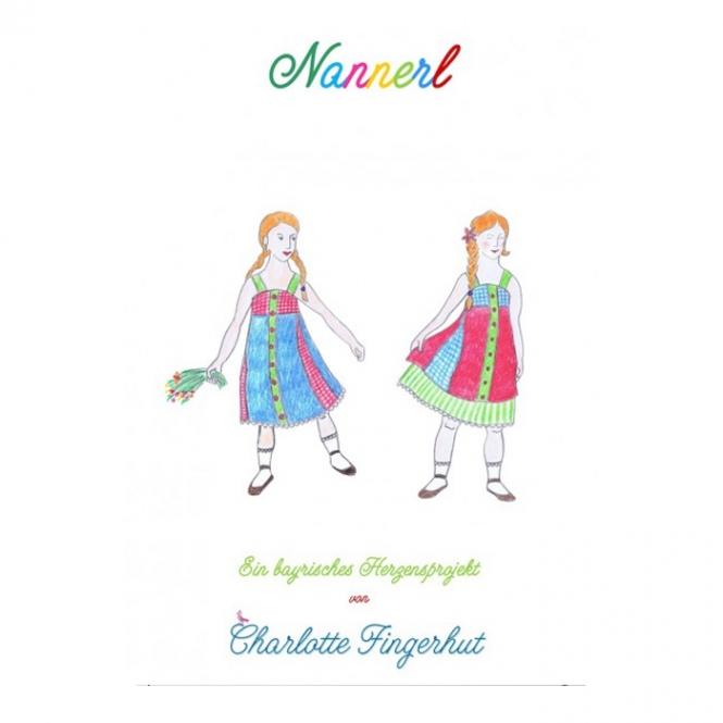 Charlotte Fingerhut Papierschnittmuster Kinderkleid Nannerl